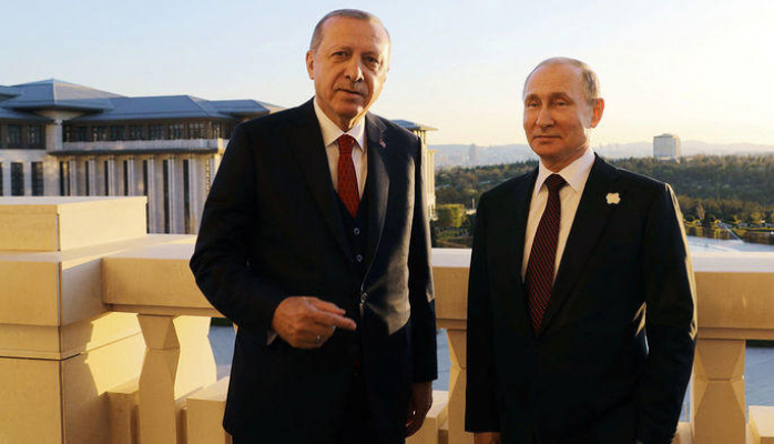 Названа дата визита Путина в Турцию