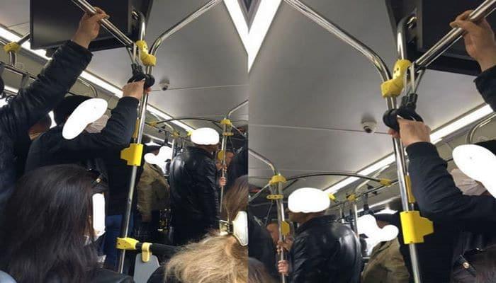 В Баку водитель автобуса нарушил правила карантинного режима