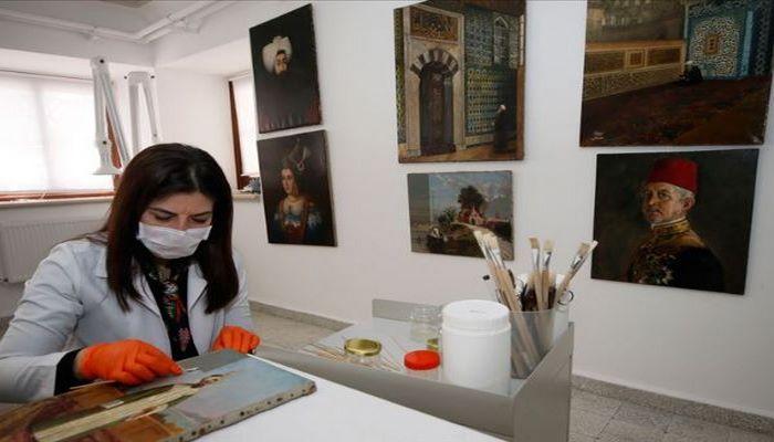 Topkapı'nın deposundaki tablolar sanatseverlerle buluşacak
