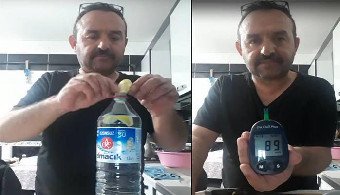 Şəkər xəstəliyinə bir reseptlə qalib gəlib – Türkiyəli kişinin rekord qıran resepti