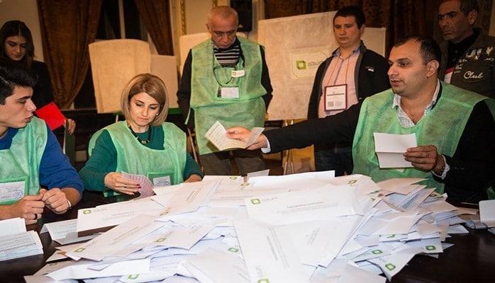 Gürcüstan MSK prezident seçkilərinin yekun nəticələrini açıqlayıb
