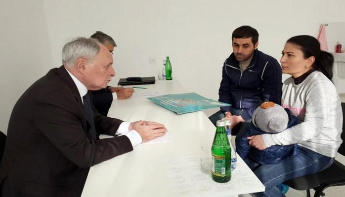 Министр здравоохранения принял граждан в Имишли