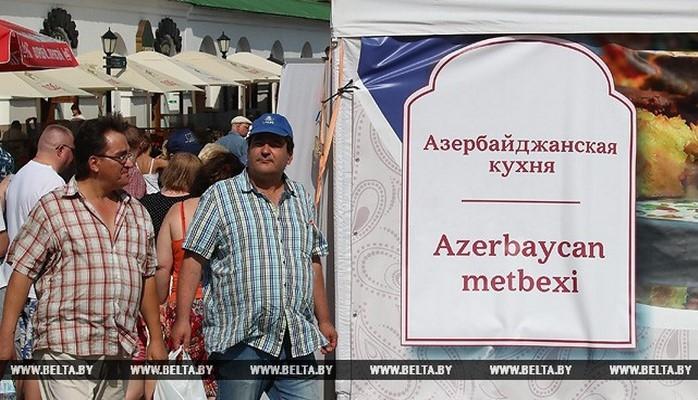 В Минске проходит фестиваль азербайджанской культуры «Бакинский бульвар»