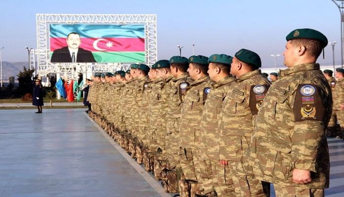 Группа миротворцев вернулась из Афганистана в Азербайджан