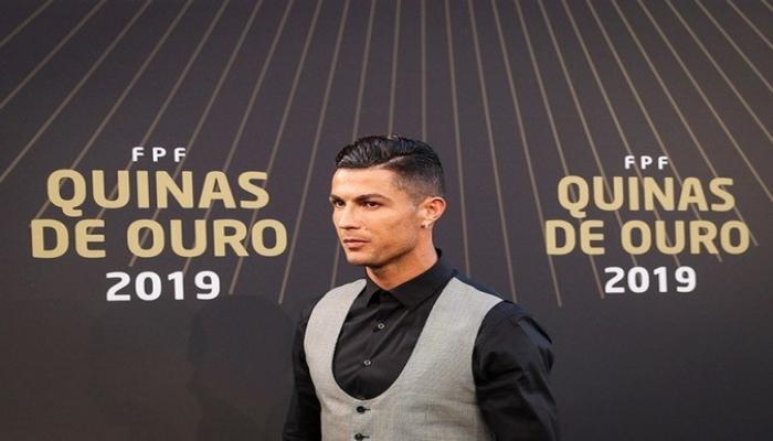 Роналду в десятый раз избран лучшим футболистом года