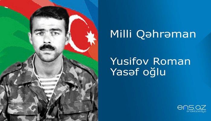 Roman Yusifov Yasəf oğlu