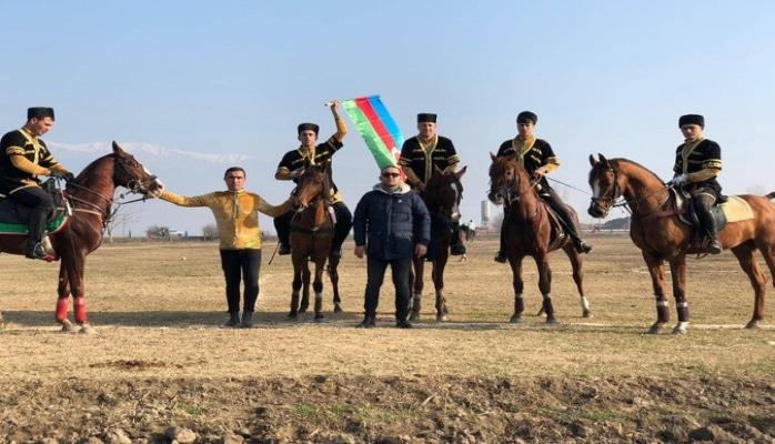В Шеки стартовали соревнования по конной игре човган за Кубок президента