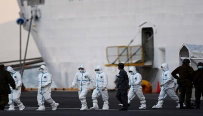 Yaponiyada karantində olan gəminin sərnişinlərinə 2 min iPhone paylandı