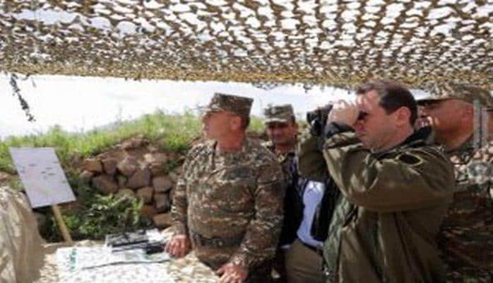 Ermənistanda 4 müxalif deputat müdafiə naziri ilə görüşüb Qarabağa dair plan təqdim etdi