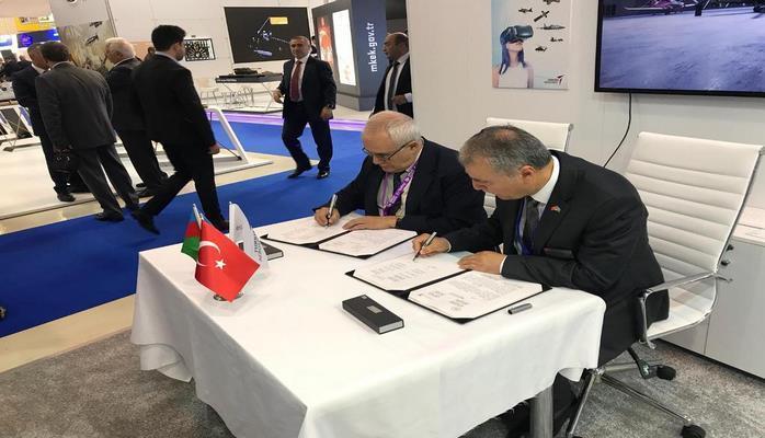 НАНА будет сотрудничать c компанией «Turkish Aerospace»