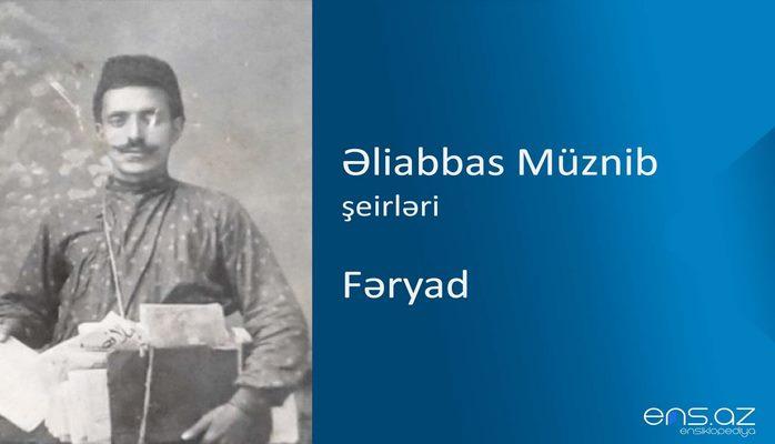 Əliabbas Müznib - Fəryad