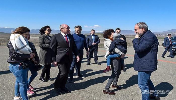 Paşinyan Qarabağa gəldi