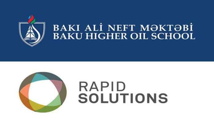 Бакинская Высшая школа нефти и Rapid Solutions заключили меморандум о взаимопонимании