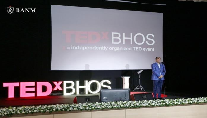 В Бакинской высшей школе нефти прошла очередная конференция TEDxBHOS