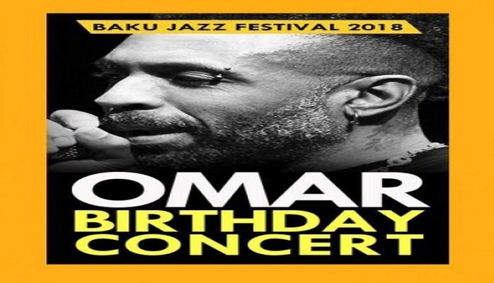 Бакинский джаз-фестиваль откроется концертом соул-певца Омара Лье-Фука