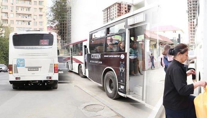 Sürüşməyə görə avtobusların sayının azaldılması narazılığa səbəb oldu