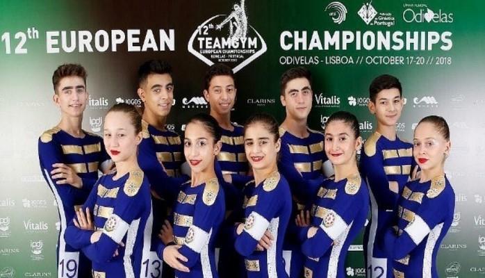 Команда «TeamGym» впервые приняла участие в чемпионате Европы