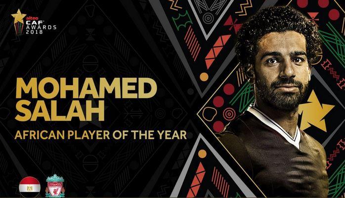Салах лучший игрок Африки второй год подряд