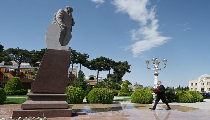 Президент Ильхам Алиев посетил Агджабединский район