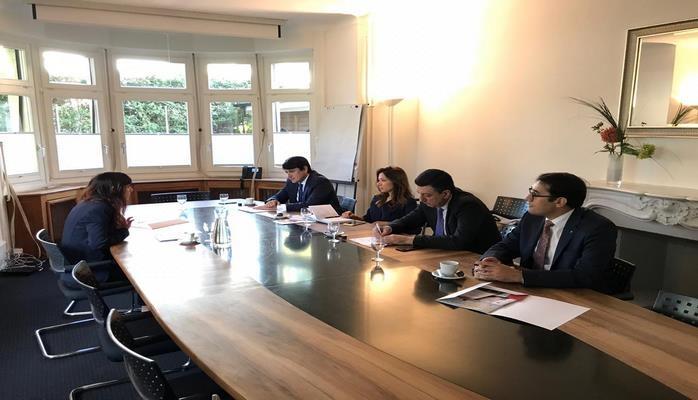 Глава Госкомитета по работе с диаспорой Азербайджана провел ряд встреч в Швейцарии