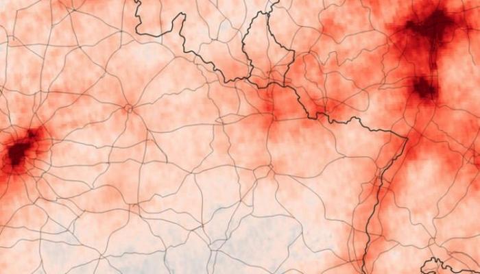 Koronavirus Avropanı bu hala saldı - Kosmosdan çəkilən görüntülər...