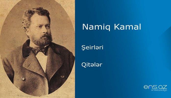 Namiq Kamal - Qitələr