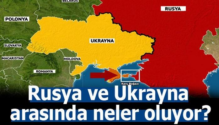 Ukrayna'da 2 aylık sıkıyönetim ilan edildi
