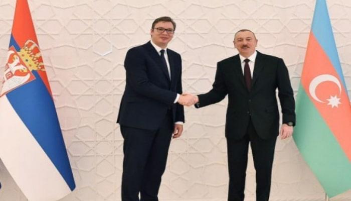 Глава Сербии поздравил президента Ильхама Алиева