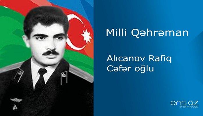 Rafiq Alıcanov Cəfər oğlu