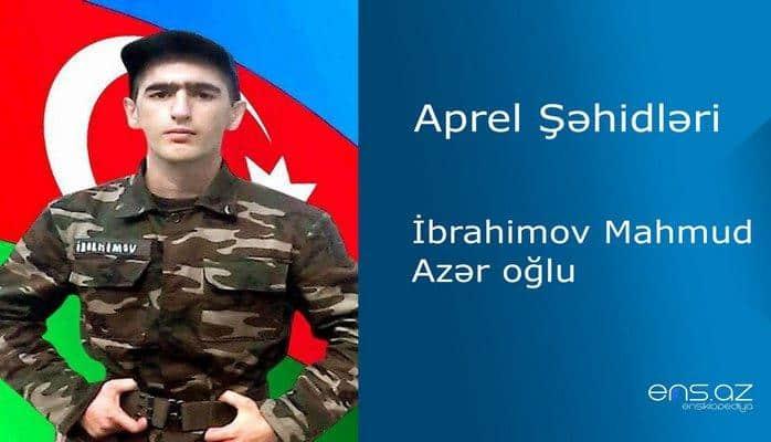 Mahmud İbrahimov Azər oğlu