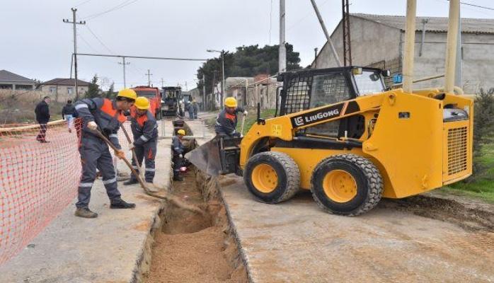 В поселке Рамана строится канализационная сеть протяженностью 14 км