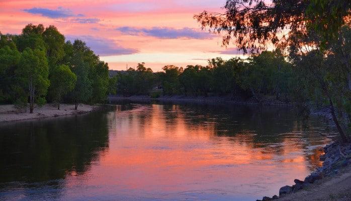 В нижнем течении реки Кура в основном наблюдается понижение уровня воды