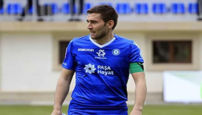 Капитан ФК « Сумгайыт» провел 150-ю встречу за клуб