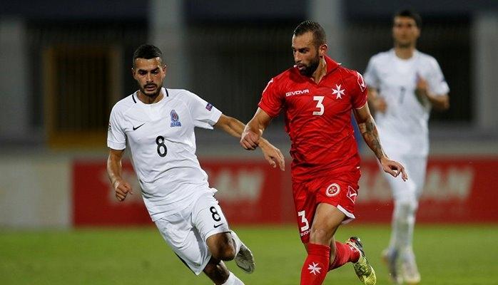 Азербайджан вырвал ничью в матче с Мальтой в Лиге наций