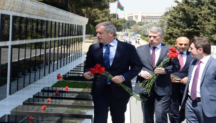 Председатель Палаты депутатов Национального конгресса Аргентины посетил Шехидляр хиябаны