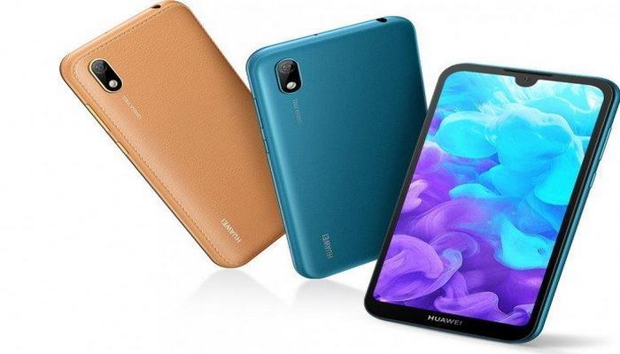 Huawei представила бюджетный смартфон Y5 2019 с оформлением корпуса под кожу
