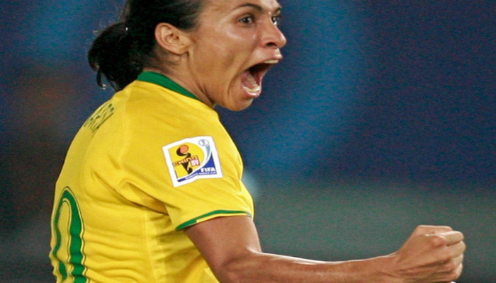 Braziliyalı qadın futbolçu dünya çempionatları tarixinin yeni bombardiri olub