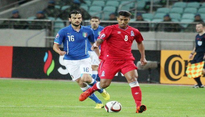 Из-за технической проблемы футболист сборной Азербайджана пропустит матч с Уэльсом