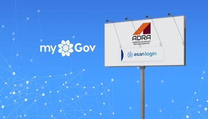 """Dövlət Reklam Agentliyinin """"İcazələr"""" sistemi """"myGov"""" portalında"""