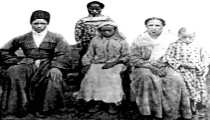 Qafqazda qaradərililər