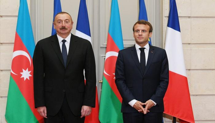 Эммануэль Макрон позвонил президенту Азербайджана