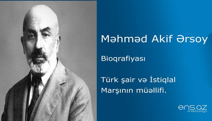 Məhməd Akif Ərsoy