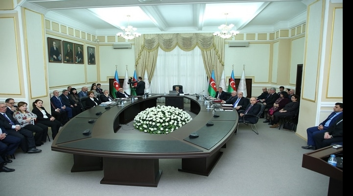 Cостоялось очередное заседание Президиума Национальной академии наук Азербайджана.