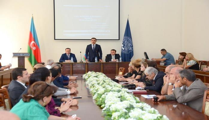 Новый этап в качестве обучения и стимулировании научной деятельности в UNEC
