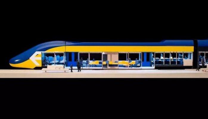 В Нидерландах придумали поезда, в которых можно будет работать