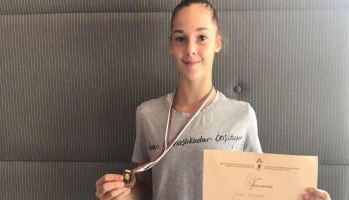Азербайджанская гимнастка завоевала бронзу