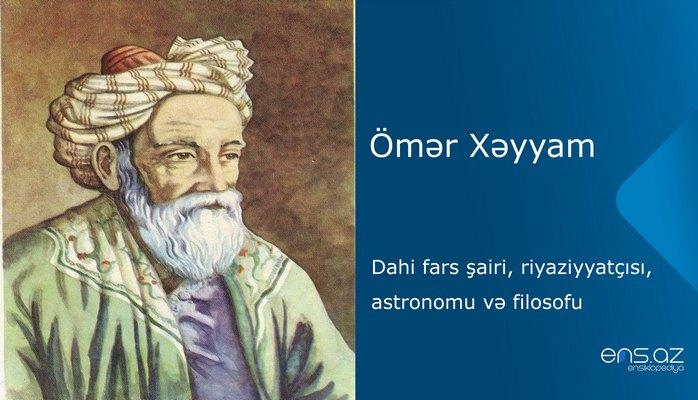 Ömər Xəyyam
