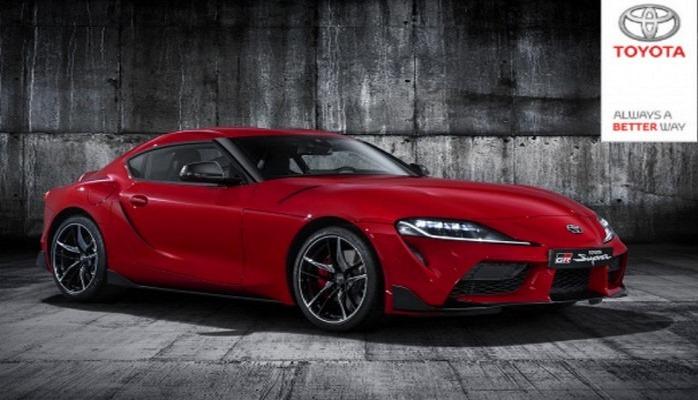 Новая Toyota Supra безкамуфляжа: первые официальные фото