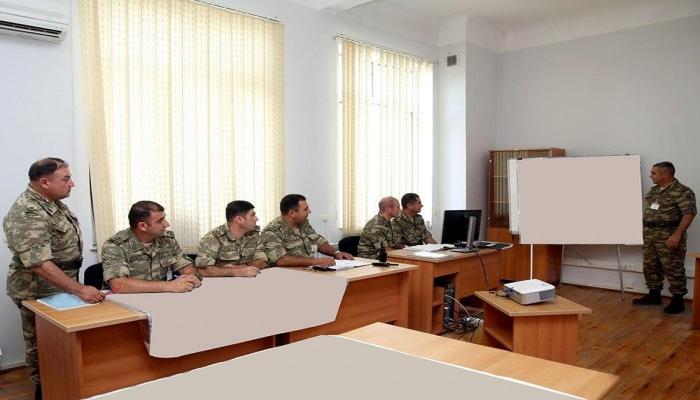 В Центре военных игр проводится командно-штабное учение