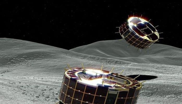 Японцы высадили на астероид Рюгу два посадочных аппарата